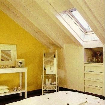 Sugerencias para decorar una buhardilla dormitorio - Muebles para buhardillas ...