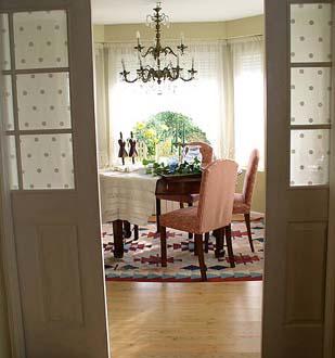 Cuando se trata de estancias anexas, las puertas correderas pueden ser