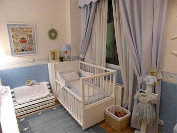 La iluminaci n en el dormitorio del beb infantil decora ilumina - Iluminacion habitacion bebe ...
