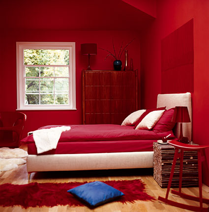 Red Painted Rooms