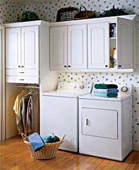 C mo organizar una lavander a peque a tendencias for Cocinas pequenas con lavanderia