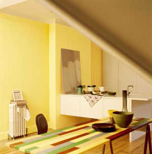 Pintando En Verde Manzana Y Amarillo Pintura Decora