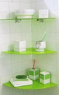 Ahorrando espacio con baldas o estanter as ba o decora ilumina - Baldas para bano ...