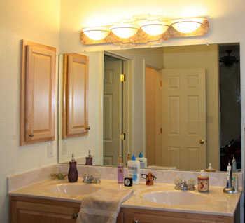 C mo iluminar el ba o adecuadamente ba o decora ilumina - Apliques de luz para bano ...