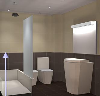 Consejos para la iluminaci n del ba o ba o decora ilumina - Iluminacion cuarto de bano ...