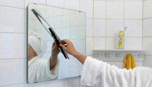 C mo colgar espejos de manera segura ba o decora ilumina for Como decorar un espejo rectangular sin marco
