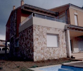 Losetas para fachadas cheap exterior para fachadas en for Losetas para fachadas