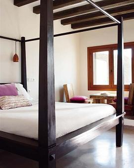Tipos de camas con dosel para tu habitaci n dormitorio - Cama dosel madera ...