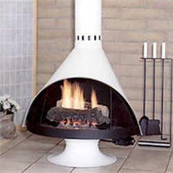 C mo escoger la chimenea correcta sala decora ilumina - Chimeneas gas natural ...