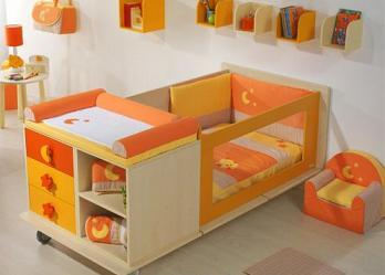 Cunas convertibles dormitorio decora ilumina - Modelo de cunas ...