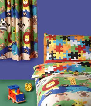 Cortinas para habitaciones de niños | Dormitorio - Decora Ilumina
