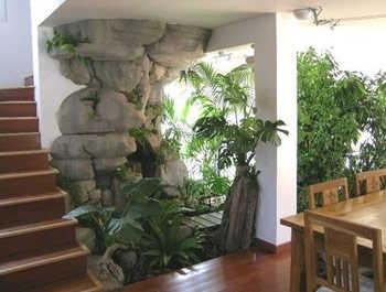C mo crear un jard n dentro de la casa jardin decora for Como hacer un jardin interior en casa