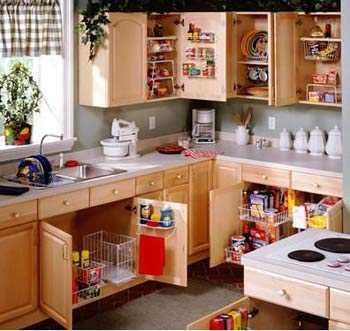 Limpiando y organizando las alacenas de la cocina cocina for Organised kitchen ideas