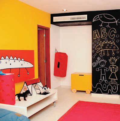 Por qué pintar una habitacion con tres colores | Pintura - Decora ...