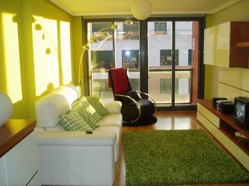 Tonos verdes para las paredes pintura decora ilumina - Gama de verdes ...