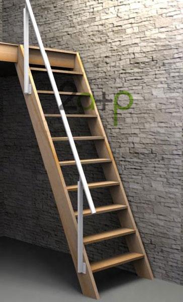 Tipos de escaleras para ahorrar espacio tip del dia for Escaleras modernas para espacios pequenos