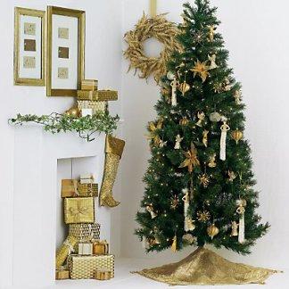 C mo decorar la sala para navidad navidad decora ilumina for Decorar piso navidad