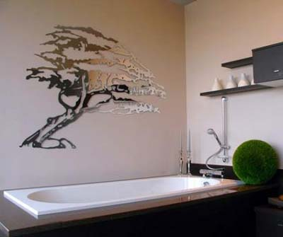 Decorando las paredes con espejos innovadores tendencias - Espejos pequenos decorativos ...