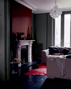 Colores oscuros para pintar las paredes