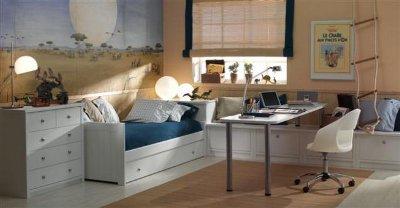 Este modelo de camas nido se mezcla con el concepto de camarote ...