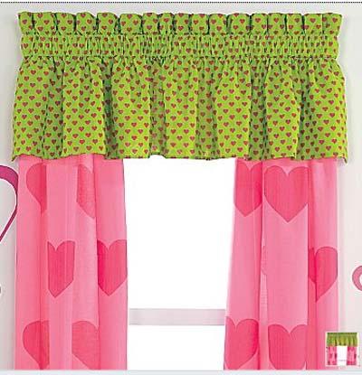 Ideas de cortinas para habitaciones de las adolescentes - Cortinas para bebes decoracion ...