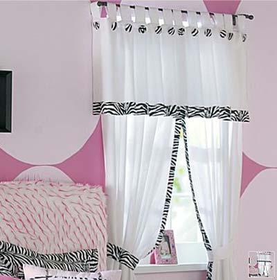 C mo decorar una habitaci n juvenil con animal print - Cortinas para habitacion juvenil ...