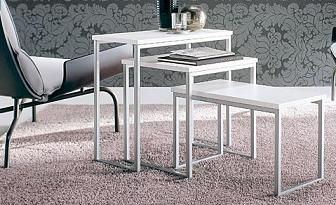 Mesas auxiliares para el sal n muebles decora ilumina - Mesitas auxiliares salon ...