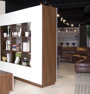 Paneles para separar y relacionar espacios comedor - Muebles separadores de espacios ...