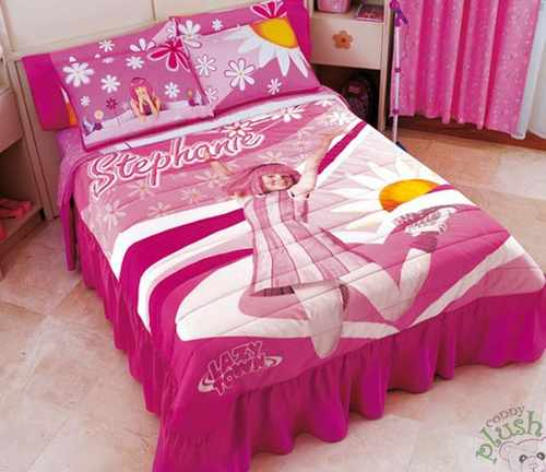 Modelos de edredones decorativos para niños y niñas | Dormitorio ...