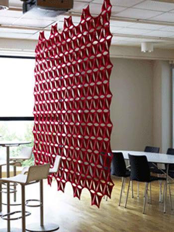 Nuevos estilos para separadores de ambientes muebles - Cortinas separadoras de ambientes ...