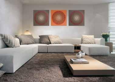 Consejos para colocar cuadros tip del dia decora ilumina - Como colocar cuadros en un salon ...