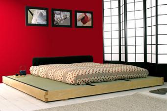 Fut n la cama japonesa dormitorio decora ilumina - Cama tipo japonesa ...