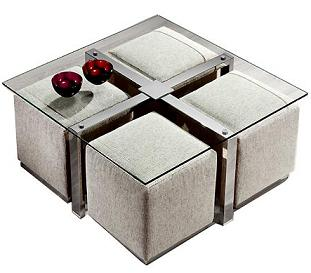 Mesas extensibles que cumplen doble funci n comedor - Mesas de centro que se elevan ...