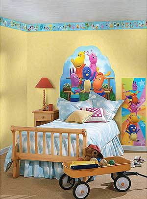Ideas para decorar un habitación infantil con Los Backyardigans ...