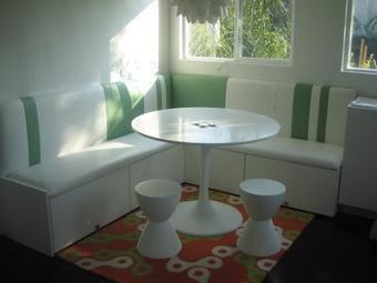Ideas para bancos de cocina muebles decora ilumina - Bancos esquineros para cocina ...