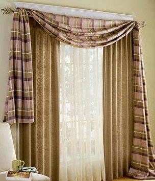 Decorando con cortinas tendencias decora ilumina - Formas de cortinas ...