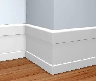 Decorando con z calos de madera pisos decora ilumina for Molduras de madera para pared