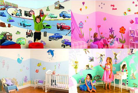 Qu pinturas usar en el cuarto de los ni os dormitorio - Pinturas de decoracion de dormitorios ...