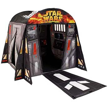 Innovadoras carpas decorativas para habitaciones for Decoracion de cuarto star wars