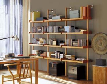 Estanter as de lujo para tu casa muebles decora ilumina - Estanterias para casa ...
