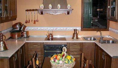 Cocinas r sticas cocina decora ilumina - Como disenar una cocina rustica ...
