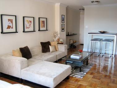 Decorando un departamento de 50 metros cuadrados tip del for Decoracion de apartamentos de 50 metros