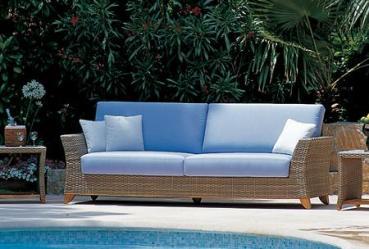 Muebles de rattan para el jard n o la terraza jardin - Cojines para sillones de jardin baratos ...
