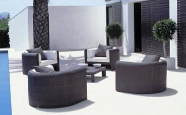 Muebles de rattan para el jard n o la terraza jardin for Amazon muebles terraza