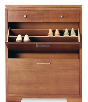 Muebles para zapatos en el dormitorio dormitorio for Zapateras para closet madera