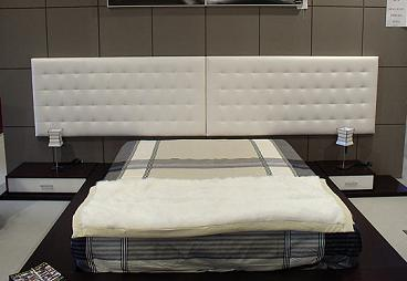 Gu a para la elecci n de cama y cabecero dormitorio - Cabecero mesillas integradas ...