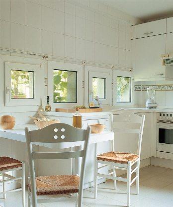 Cómo incorporar un comedor en la cocina | Cocina - Decora Ilumina