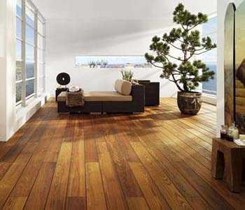 Consejos caseros para limpiar el parquet pisos decora - Parquet noir pas cher ...