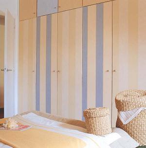 C mo decorar las puertas de los armarios bricolaje - Como forrar las puertas de un armario ...