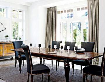 El estilo de los grandes ventanales en casa tendencias for Cortinas salon comedor